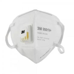 Masque De Protection Respiratoire Avec Valve - PM2,5 - 3M - KN95 Équiv. FFP2 - Anti-Poussière - Anti-Pollution - Efficace Contre Ebola Et Coronavirus