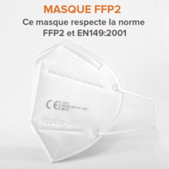 Masques De Protection Respiratoire FFP2 - PM2,5 Anti-Poussière - Anti-Pollution - Efficace Contre Ebola Et Coronavirus